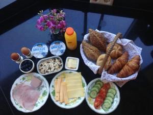 ontbijt a € 10,- pp